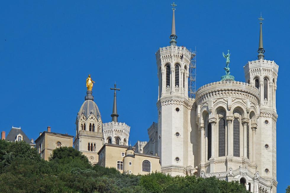 Visiter Lyon : Fourvière